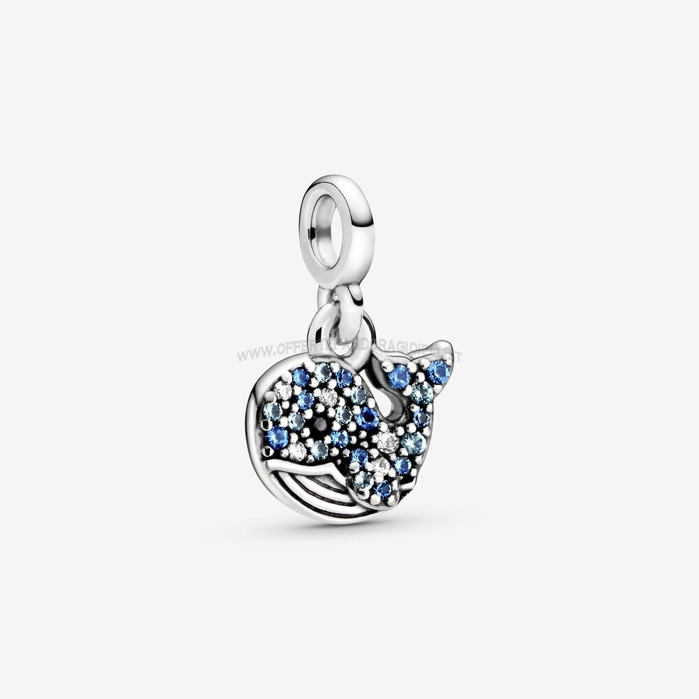Gioielli Pandora My Blue Whale Dangle Charm Scontati