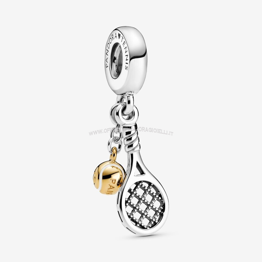 Gioielli Pandora Tennis Racket And Ball Dangle Charm Scontati